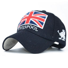 Load image into Gallery viewer, Baseball Cap Men Dad Hat For Women The Union Jack embroidery Hat Full Cap Sports Bend Visor Male Bones Fitted Cap Baseball Hats