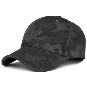 Baseball Cap Men Dad Hat Women Sports New Camouflage Cap Outdoor Concise Bend Visor Male Bones Flexfit Fitted Cap Baseball Hat