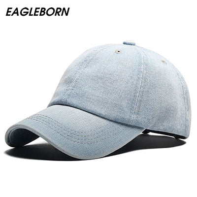 Baseball Cap Men Snapback Cowboy Caps Brand Homme Hats For Women Bone Jeans Denim Blank Gorras Casquette Plain 2020 New Hat