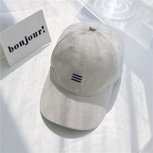 Load image into Gallery viewer, Baseball Cap Men Women Casual Baseball Cap Women Adjustable Snapback Hat Hip Hop Cap Black Beige Khahi Drop Shipping Wholesale