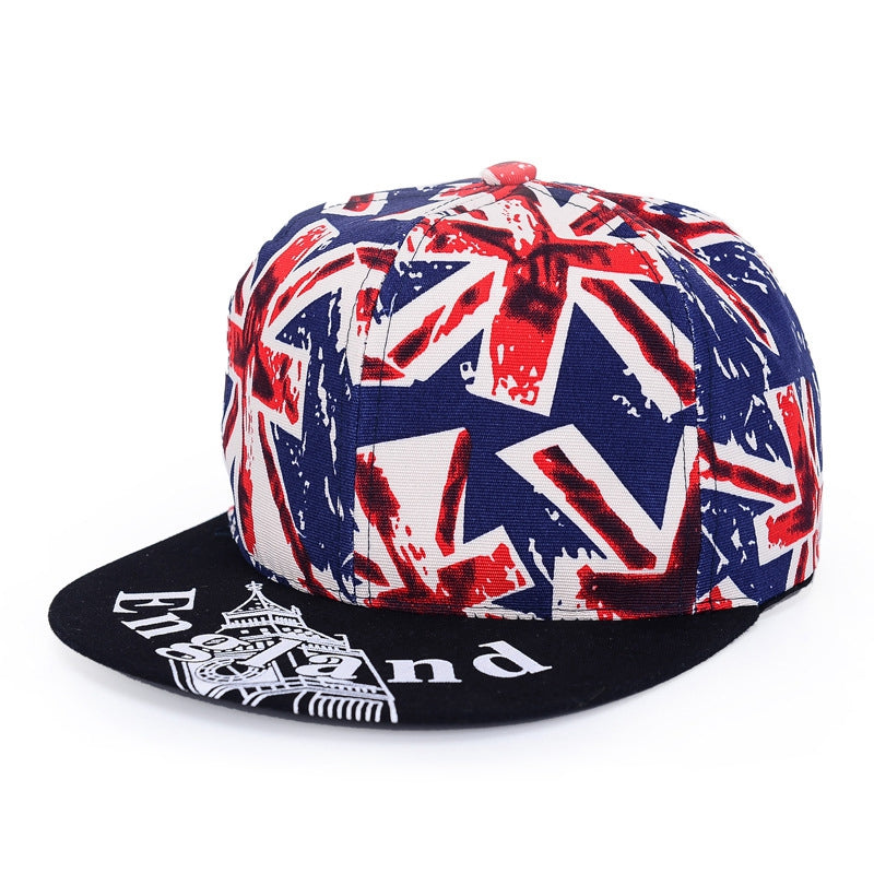 Baseball Cap Styles 2017 Casual Unisex  hip-hop Adjustable the British flag is Summer Fitted Snapback Men Fitted Hats Caps