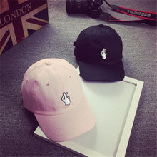 Load image into Gallery viewer, Baseball Cap Women's Men's New Fashion Pure Color Baseball Hats Summer Style Lady Jeans Hats Hip Hop Flat Finger Sun Caps F#J14