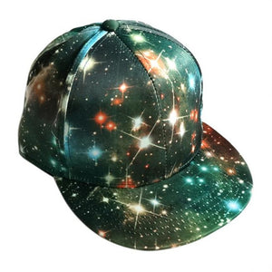Baseball Caps New Fashion Hot Sale Men Women Unisex Starry sky Sports Snapback 2018 Golf ball Hip Hop Flat Hat F#J14