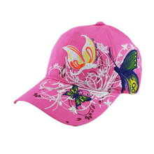 Load image into Gallery viewer, Baseball cap for women Embroidered Baseball Cap girl Fashion Shopping Cycling Duck Tongue Sun Hat women Hip hop Casquette