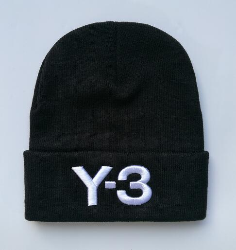 2017 Winter Hat Embroidery Hiphop Y-3 Beanies And Whatever Knitted Hats Caps for women and men cap gorro touca