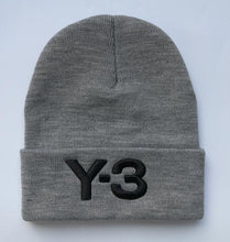 Load image into Gallery viewer, 2017 Winter Hat Embroidery Hiphop Y-3 Beanies And Whatever Knitted Hats Caps for women and men cap gorro touca