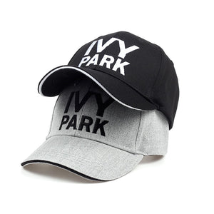 Beyonce IVY PARK Baseball Cap Brand Fashion Style Cot Hemp ash Hat Embroidery Unisex Snapback Caps Adjustable Women Man