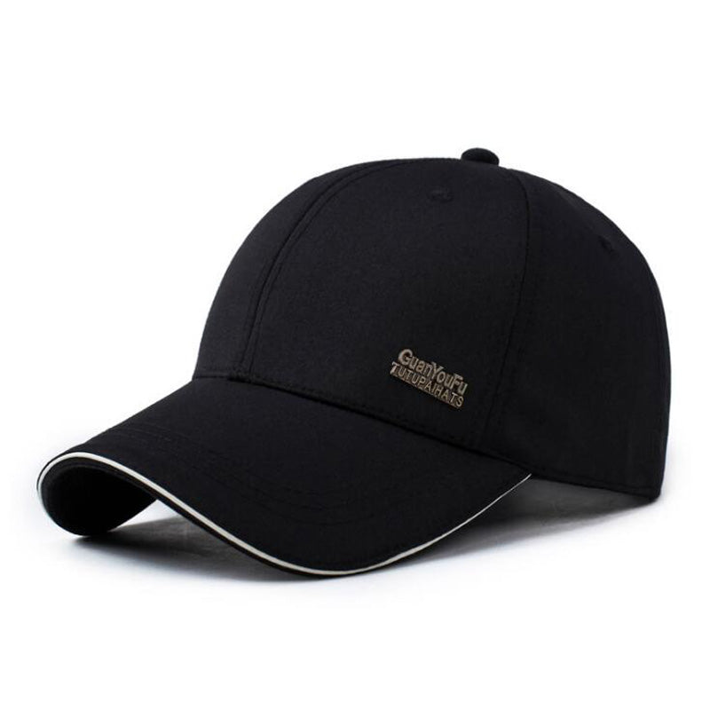 Black Grey Baseball Caps Men Women Outdoor Trucker Cap Full Closed Dad Hats Male Brand Sport Gorras Cap Bones