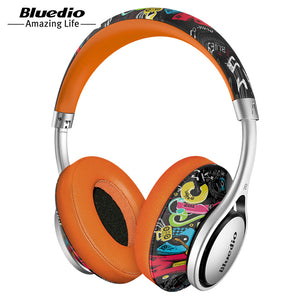 A2 (Air) Bluetooth Headphone/Headset Printed Wireless Headphones For 4.2 Bluetooth Music Earphones