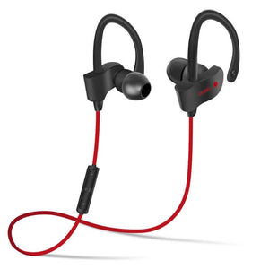 Bluetooth 4.1 Wireless Headset Stereo Music Bluetooth Earphone Ear Hook Waterproof Sport Headphone for Running Fitness Exercise