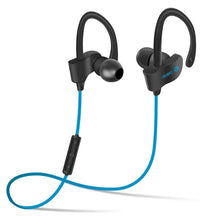 Load image into Gallery viewer, Bluetooth 4.1 Wireless Headset Stereo Music Bluetooth Earphone Ear Hook Waterproof Sport Headphone for Running Fitness Exercise