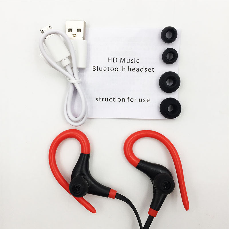 Bluetooth Earphone Wireless Headphones Sports Stereo Bass Headsets Auriculares Bluetooth V4.1 for  Iphone 6/6S/7 Plus