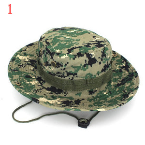 Boonie Hats Tactical Airsoft Sniper Camouflage Tree Bucket Hat Accessories  Casual Military Army American Military Men 67c17f8e775b