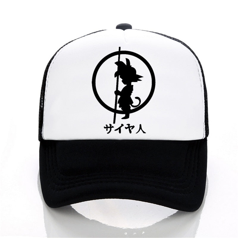 148cd1d30b68 Brand Dragon Ball z goku Baseball cap Men Fashion Men s Casual summer Mesh  cap Letter print cartoon tricker cap