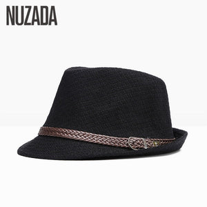 Brands  Autumn Winter Men Fedoras Top Jazz Hat Bowler Hats Quality Cotton Cap England Retro Classic Version You Can Adjust