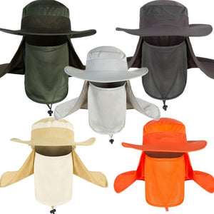 680b32b7 Breathable Fishing Caps Sunshade Outdoor Sport Camping Hiking Visor Hat UV  Protection Face Neck Cover Fishing