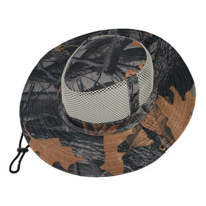 f40dba88fc87c Breathable Mesh Camouflage Boonie Hats Nepalese Cap Militares Army Men  Military Hiking Hats Summer Bucket Hat Fishing Caps