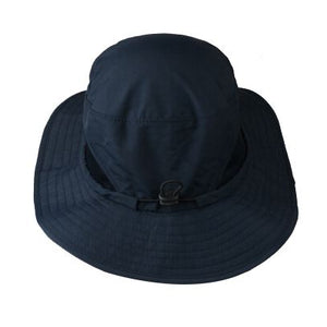 0b0ca14c57d Bucket Hat Boonie Hunting Outdoor Wide Brim Camo Sun Cap Fishing Royal Blue