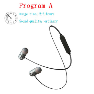 Bluetooth Wireless Earphone Bluetooth headset Sports In Ear Magnetic Wireless Earbuds Earpiece With Mic For Mobile Phone