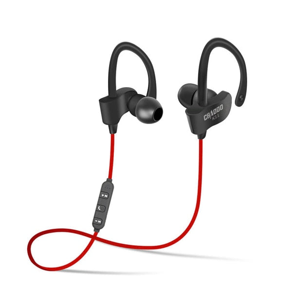 Wireless Bluetooth Earphones Sports Headphone Stereo Headset Waterproof blutooth earphone with MIC for iphone  xiaomi