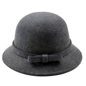 100% Wo Black Fedoras Hats For Children Casual Baby Fashion Fedoras Caps Adjustable Head Winter Wo Baby Fedoras Hats