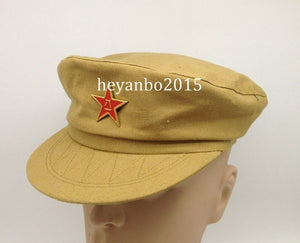 8ff1dffbb85 CHINESE COMMUNIST ARMY MILITARY MILITARY OFFICER COT HAT CAP IN SIZES - World  military Store