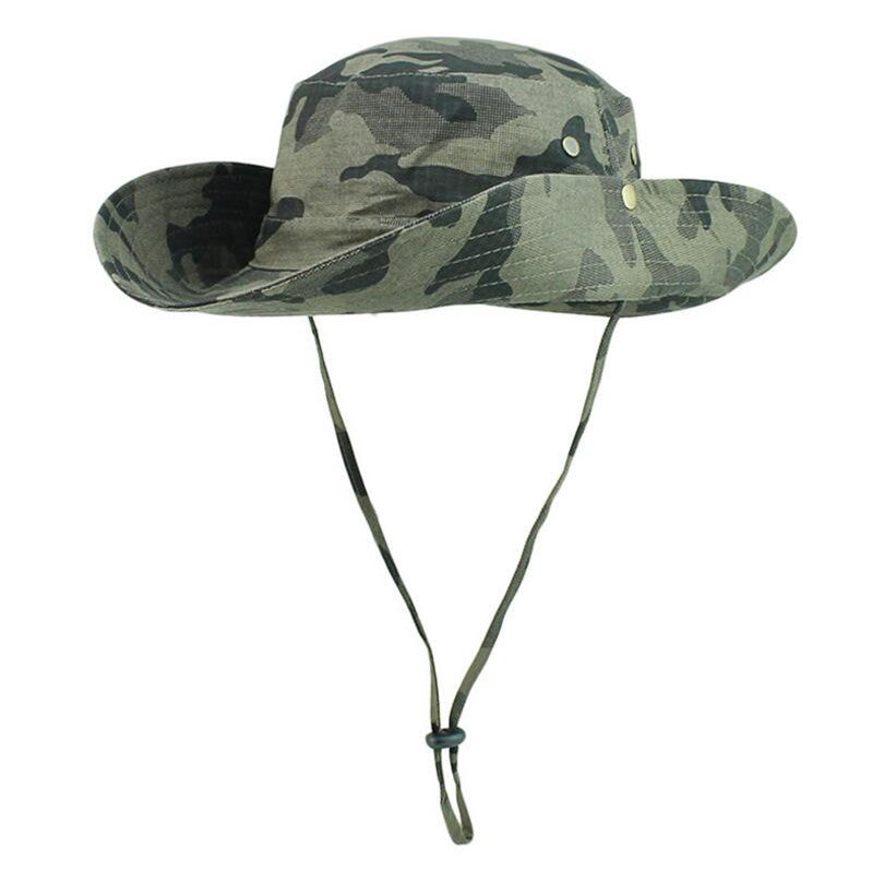 Summer Sun Hats Outdoor Hiking Caps Men Large Round Brim Sports Caps Fishing Bucket Hat Mountain Climbing Travel Hat