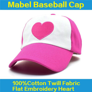 Co New Spring Summer Gravity Falls U.S Cartoon Mabel Dipper Pines Cosplay Co Baseball Mesh Caps Adjustable Sport Hat