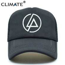 Load image into Gallery viewer, Linkin Park Trucker Cap Hat Men Summer Rock' N' Roll' Music Band Chester Co Baseball Mesh Net Trucker Caps Hat For Men