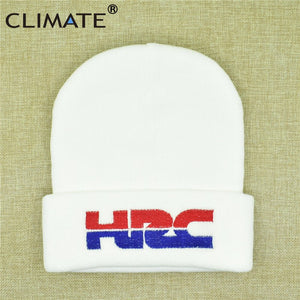 Men Hat Honda HRC Beanie Winter Cap HRC Honda Racing Hat Cap HRC Motorcycle Racing Hat Warm Knit Beanie Hat for Men