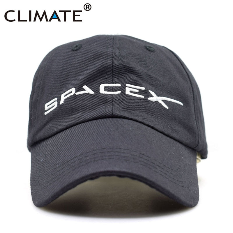 Men Women Co Black Spacex UFO Baseball Hat Caps Cotton Adult Outer Space Rocket Musk Fans Sport Active Co Caps Hat