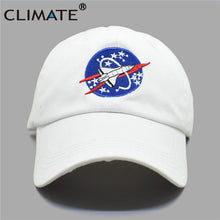 Load image into Gallery viewer, Women Men New Black Baseball Caps Spacex Outer space Fans Universe Spacecraft Spaceman Explorer Cot Baseball Cap Hat