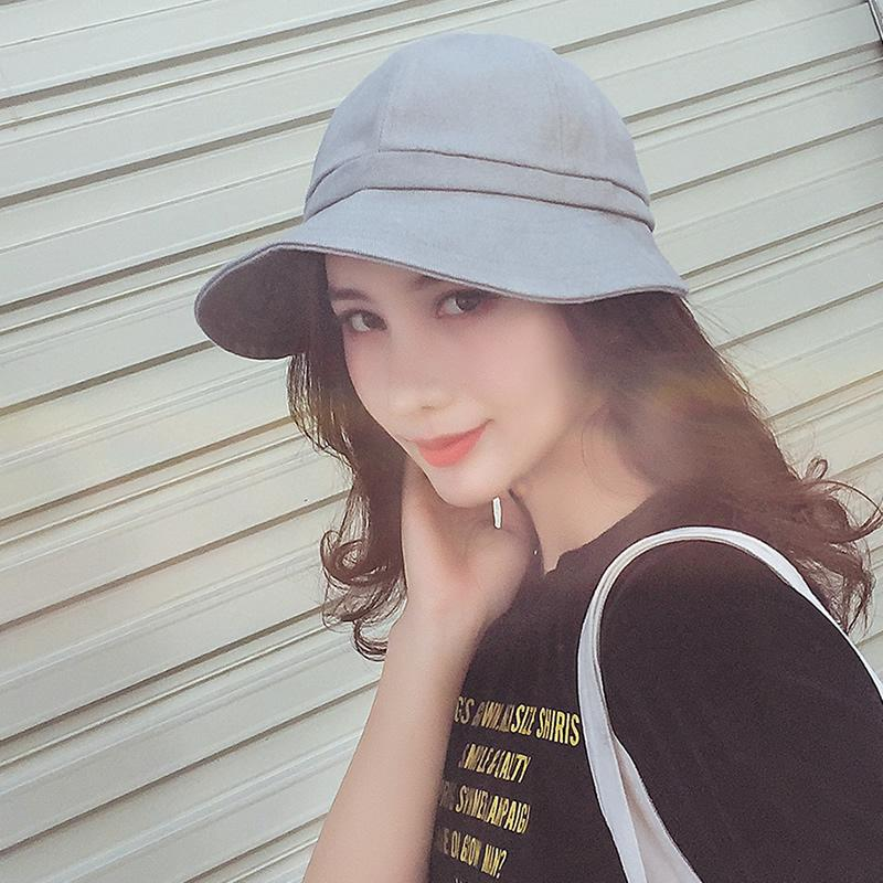 1091b7d9d180b1 ... Load image into Gallery viewer, Spring Summer Hats For Women Wide Brim  Bucket Hat Kpop ...