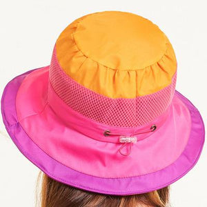 a0d2932c7a1 Summer Hats For Women Men Bucket Hat With Windproof Rope Sun Hat Outdoor  Sunscreen Fishing Hat Female Male Cap Uv Protect