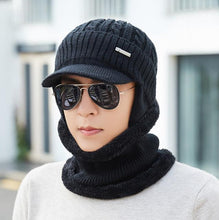 Load image into Gallery viewer, Winter Hats Skullies Beanies Hat Winter Beanies For Men Women Wo Scarf Caps Balaclava Mask Gorras Bonnet Knitted Hat 2020