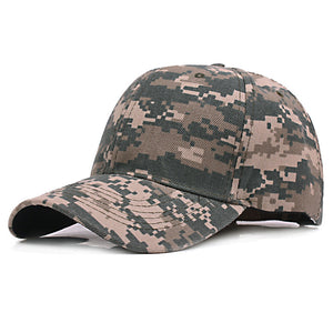 3ef6b11779f Camo Snapback Camouflage Tactical Hat Army Tactical Baseball Cap Unisex  Desert Cobra Militar Dad Bone Hats