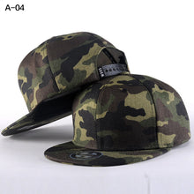 Load image into Gallery viewer, Camo Snapback Caps 2017 New Hip Hop Hats For Men Women Camouflage Baseball Cap Style