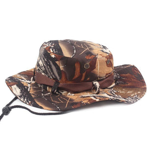 Camouflage Boonie Bucket Hats Camo Fisherman Hats With Wide Brim Sun  Fishing Bucket Hat Men Camo Wide-brim Snapback Boonie Hat e2f72f85e70b