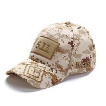 Load image into Gallery viewer, Camouflage baseball cap unisex 511 tactical army outdoor quick dry done snapback camo fishing hiking casual trucker dad cap hat