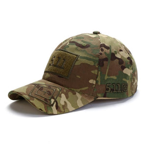 Camouflage baseball cap unisex 511 tactical army outdoor quick dry done snapback camo fishing hiking casual trucker dad cap hat