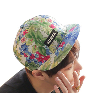 Cap Hip Hop Tree Flower Cotton Print Baseball Cap Boys Girls Snapback Flat Hat Sobretudo Feminino