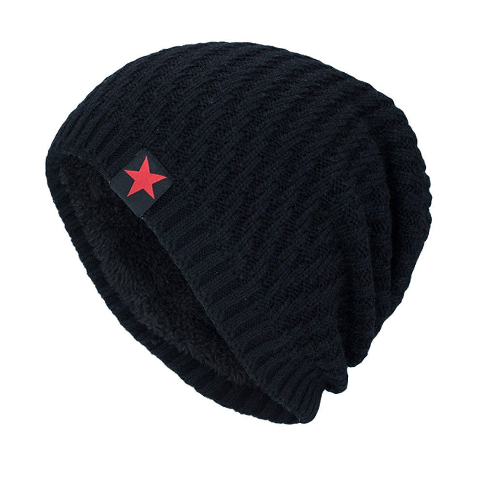 a25bae4a1e61ba Load image into Gallery viewer, Caps cap men women beanie star beanies for men  black ...