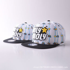 Cartoon Parenting Spring Cap Xia Ertong Hat Male Hat Mother And Son Mother And Daughter Hip Hop Cap Go On A Journey Go Shopping