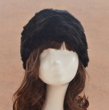 Load image into Gallery viewer, Cheap Casual Women Winter Beanie Hat Black Yellow Faux Fur Caps Winter Keep Warm Flat Cap Winter Hat Gorro Beanie Feminina CP086