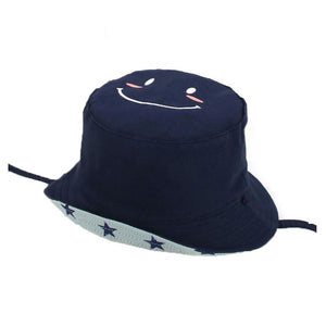 Child Bucket Cap Hat Cot Chapeu Fisherman Cap Unisex Smiling Face And Star  Outdoor M6780 Beach 39d25c3c20f