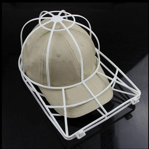 Cleaning Protector Ball Cap Washing Frame Cage Baseball Ball cap Hat Washer  Frame Laundry bag for 03d0cf91aa9