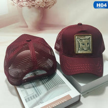 Load image into Gallery viewer, Cock Animal Embroidery Baseball Cap Men Women Snapback Caps Breathable Mesh Hip Hop Hats Unisex Eat Chicken Bone Casquette