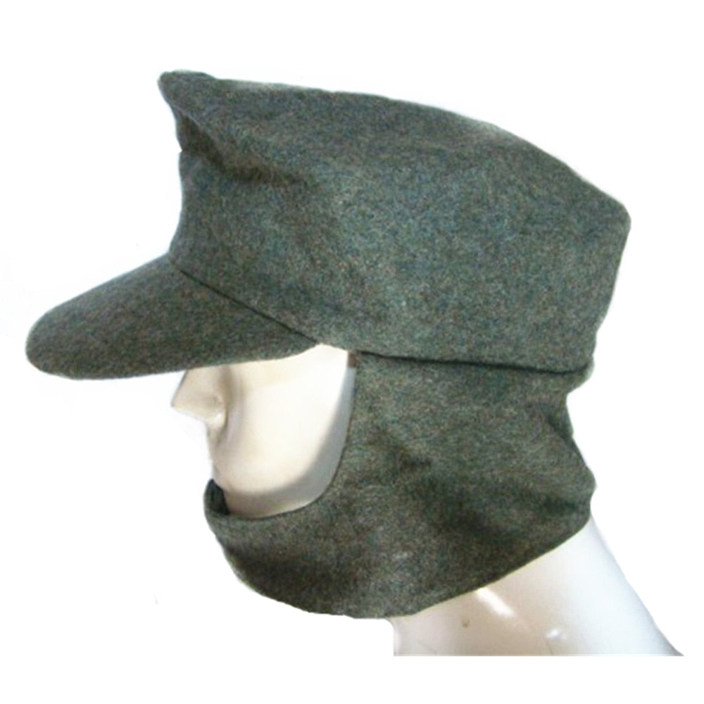 4556f6c4526 Collectable M43 WWII cap hat German Elite Military ARMY Field Hat Wo Cap  green grey