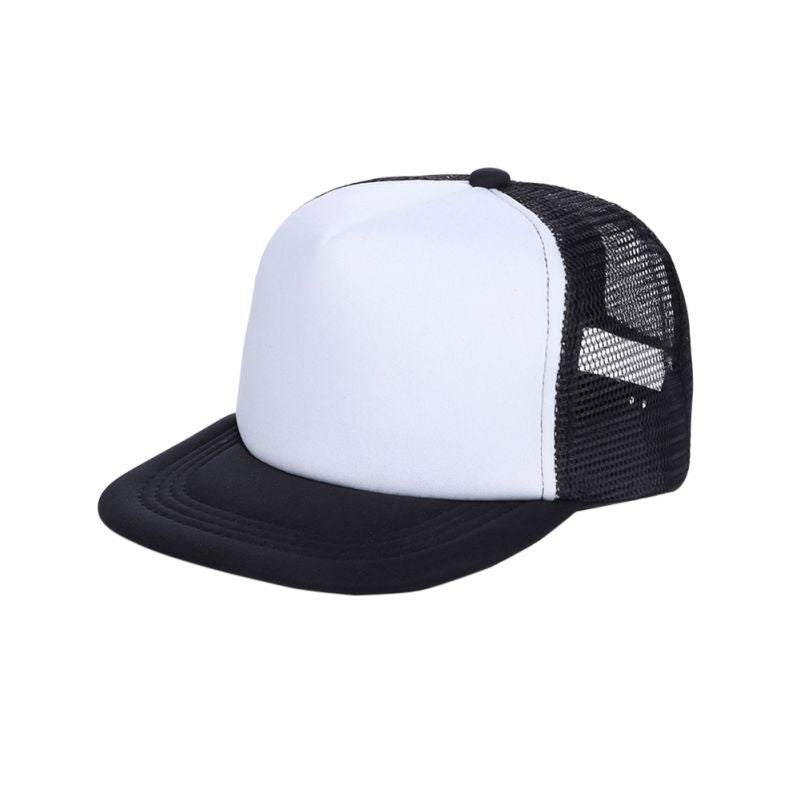 Cute  Casual Adjustable Unisex Hip-Hop boy Baseball Cap Hats Hat Blank Curved Mesh Cap Snapback Caps