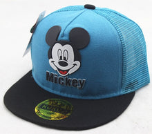 Load image into Gallery viewer, Cute Style Children Baseball Caps Spring Summer Autumn Ventilate Adjustable Baseball Hat Mouse Mickey Kids Hat Boys And Girls